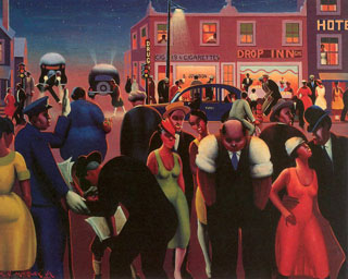 Archibald Motley, Black Belt