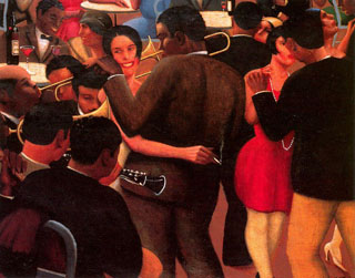 Archibald Motley, Blues