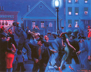 Archibald Motley, Getting Religion