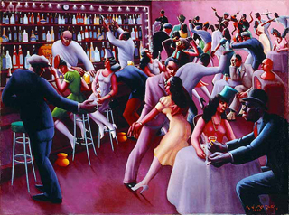 Archibald Motley, Nightlife Art Institute of Chicago