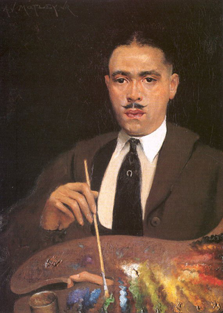 Archibald Motley, Self Portait