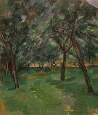 Paul Cezanne Un Close