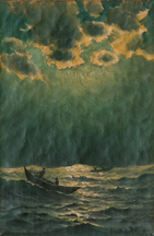 Richard Dey De Ribcowsky Fishing Boats Nocturne Midsized Thumbnail