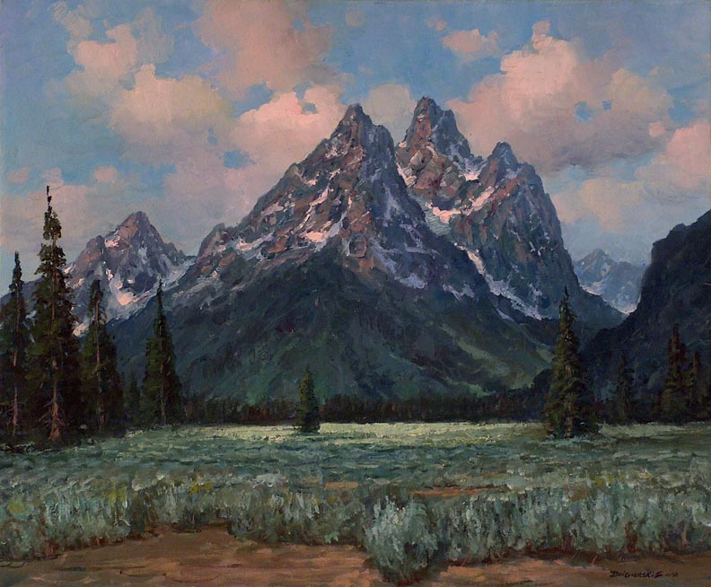Alex Dzigurski II Grand Teton Meadow