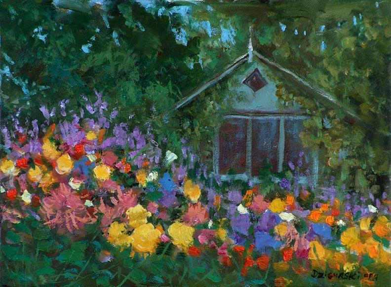 Alex Dzigurski Ii Petaluma Cottage Garden