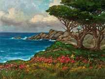 Point Lobos Springtime Alex Dzigurski