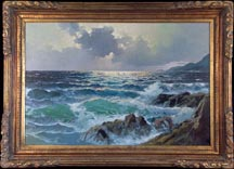 Alexander Dzigurski Crashing Waves Midsized Thumbnail