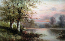 Henrietta Riddle Fish Marsh Sunset Midsized Thumbnail