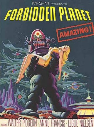 Forbidden Planet Poster Art