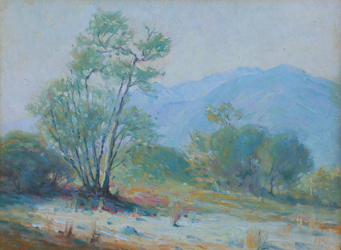 Victor Clyde Forsythe California Desert Painter