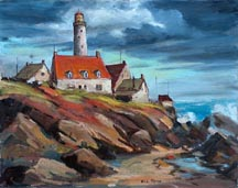 Will Frates Portland Head Light Midsized Thumbnail
