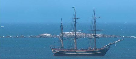 HMS Bounty in Bodega Bay 2008