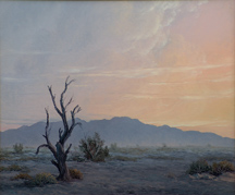 John W Hilton Desert at Evening Midsized Thumbnail