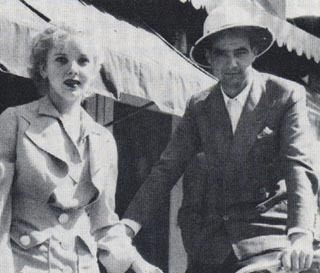 Howard Hughes and Ida Lapino in Palm Springs