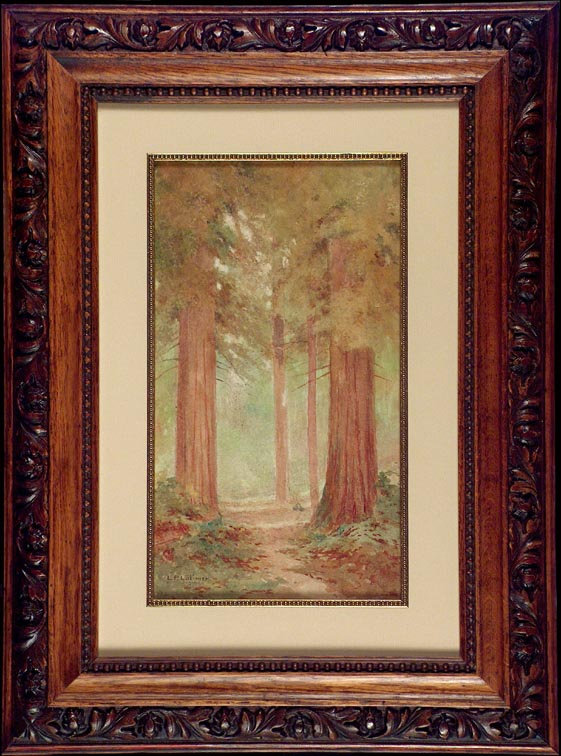 L P Latimer Redwoods with Frame