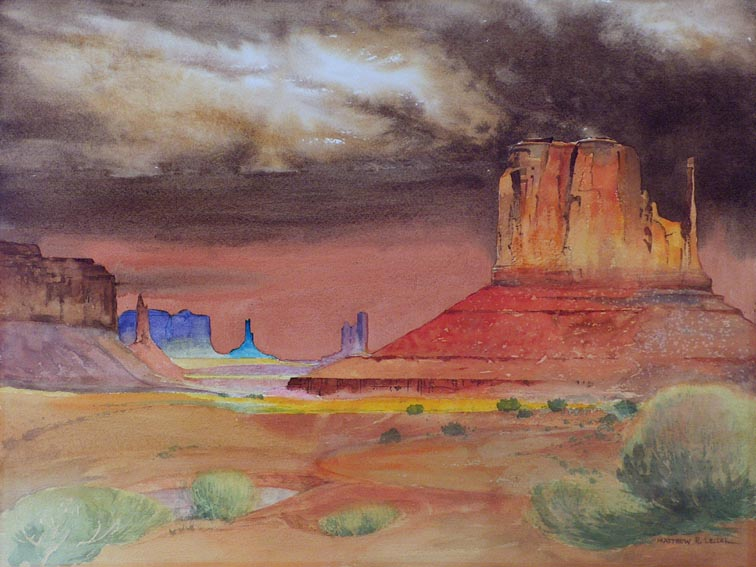 Matthew R Leiser Monument Valley