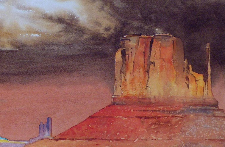 Matthew R Leiser Monument Valley Closeup