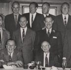 Joshua Meador at Ben Sharpsteen's Retirement Dinner 1959 pictured here with Walt Disney