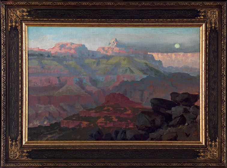 Ralph Davison Miller Grand Canyon 1905 with Frame