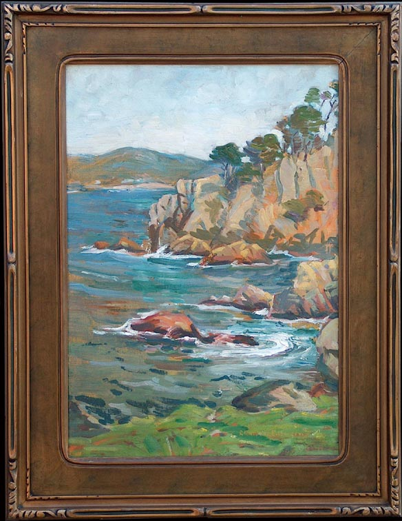 Charlotte Morgan Carmel Coast with Frame