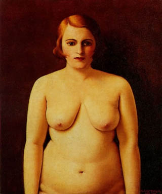Archibald Motley Nude Portrait of my Wife 1930