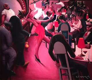 Archibald Motley Saturday Night 1935