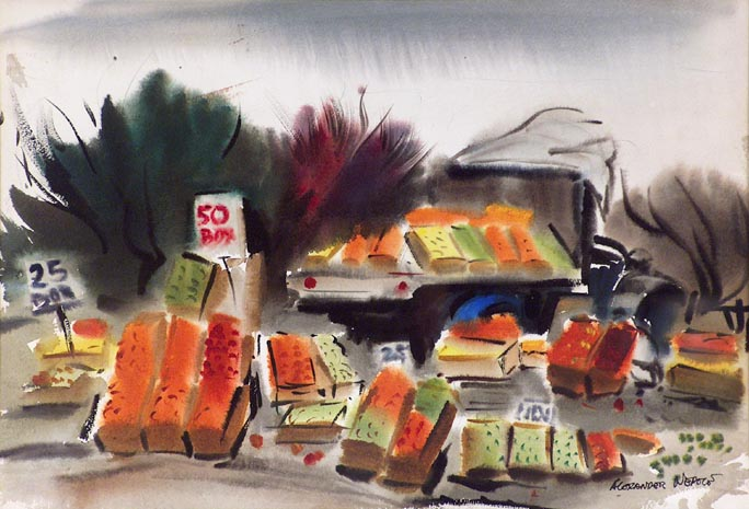 Alexander Nepote Roadside Produce Stand