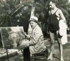 Andreas Roth in Palm Beach 1932