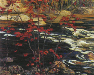 Red Maple A Y Jackson 1914