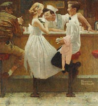 Norman Rockwell The Prom