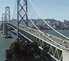 SF Bay Bridge Thumbnail 1955
