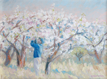 Linda Sorensen Apple Blossom Time