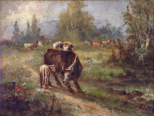 Meyer Straus Cow and Calf