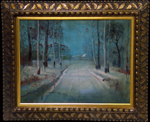 Svend Svendsen Path in the Snow Midsized Thumbnail