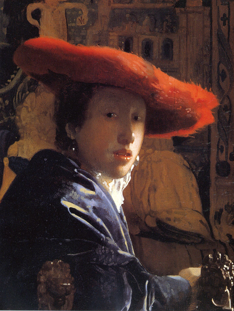 Johaness Vermeer Girl with a Red Hat