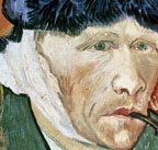 Vincent Van Gogh Severed Ear Self PortraitThumbnail