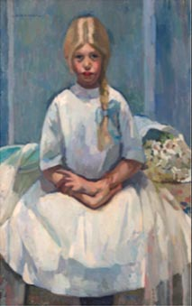 Ann Bremer Portrait of a Young Lady