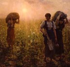 Jules Breton End of the Working Day Thumbnail