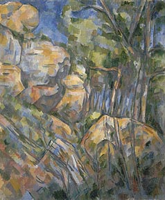 Cezanne_Paul_Rocks_Near_the_Caves_above_Chateau_Noir