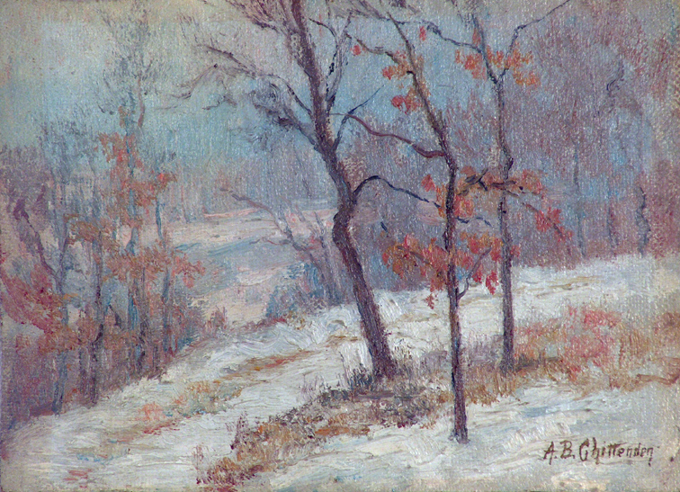 Alice Chittenden A Snow Covered Path