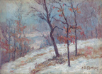 Alice Chittenden A Snow Covered Path Thumbnail