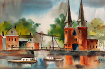 Sam Cook City Gate Delft Midsized Thumbnail
