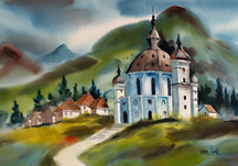Sam Cook Domed Church Germany