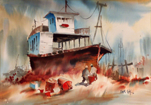 Sam Cook Old Ferry Bodega Bay Midszied Thumbnail