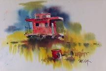 Sam Cook Red Caboose Midsized Thumbnail