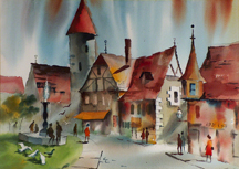 Sam Cook Village Street Germany Midsized Thumbnail