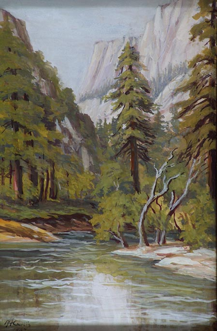 Allice Hunt Curtis Yosemite Valley