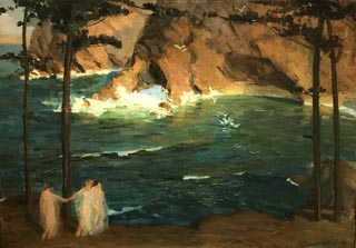 Afternoon (aka Waters off Monterey), 1912 Collection of Brayton and Judy Wilbur