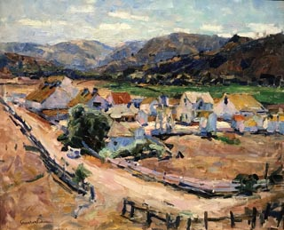 Californian Landscape, c1912 (aka The Hatton Ranch, Carmel Valley) Melza and Ted Barr Collection
