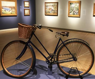 E. Charlton Fortune's bicycle, her means of transport in Monterey